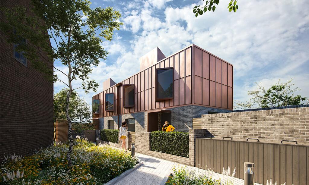 Largest modular new build council house building programme success